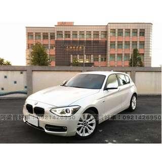 2014年-BMW-116i-買車不是夢想.輕鬆低月付.歡迎加LINE.電(店)洽
