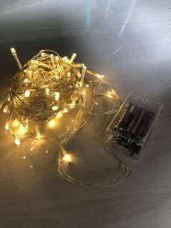Fairy Lights - 5m (New stock added)