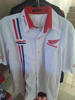 Kemeja Honda Racing