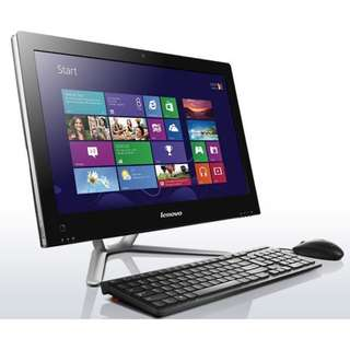 "Lenovo 23"" all-in-one, i5 / 8GB / 500GB, 合文書, 上網, 功課"