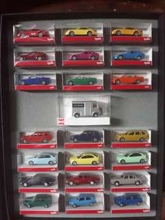 Car Graphic Miniature Toy Cars 22pcs