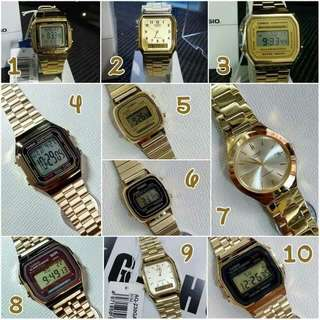 Original Casio watches