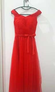 Red Dinner Dress