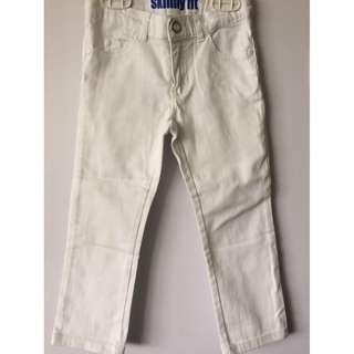 CARTER'S Skinny fit white pants