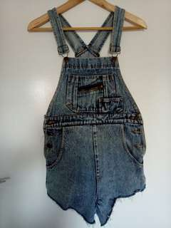 PARIS BLUES overalls used size 14