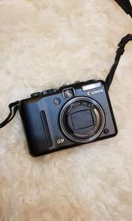 Canon G9 Camera with battery