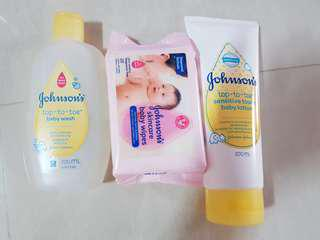 *blessing* Johnson's & Johnson's products