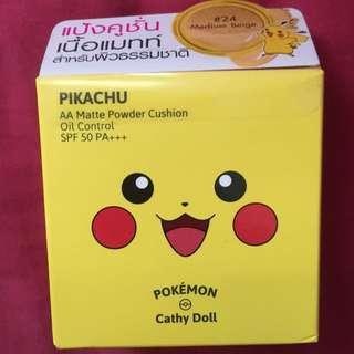 Cathy Doll Pikachu BB cushion powder