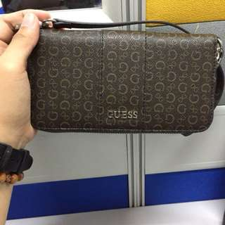 Authentic Guess Wallet with Strap