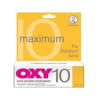 Oxy 10 Acne problem