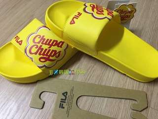 Fila Slippers (yellow)