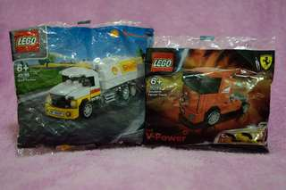 Lego Shell Ferrari Trucks Set