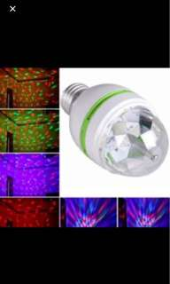 Rotating Party Disco Stage LED Light Bulb!