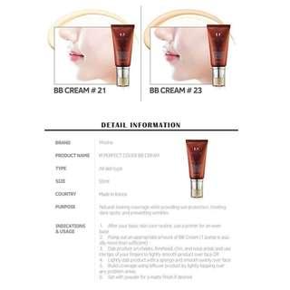 MISSHA M Perfect Cover B.B Cream (No.23/Natural Beige)