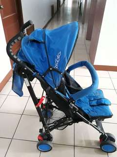 Stroller complete from SM slightly use