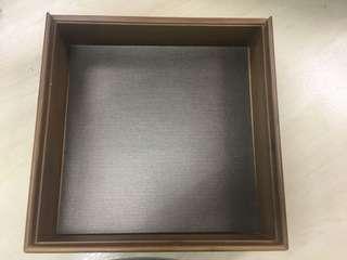 Wooden Multi Purpose Box size: 29cm x 29cm