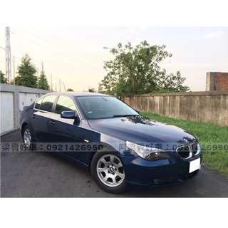 2005年-BMW-523-買車不是夢想.輕鬆低月付.歡迎加LINE.電(店)洽