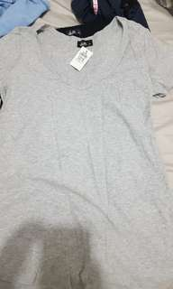 Dotti grey t shirt