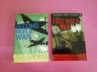 The First World War/the Second World war