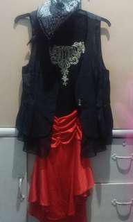 pirates costume for kids repriced...