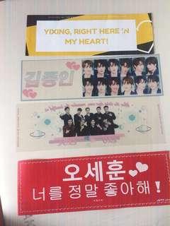 Set Exo banner slogan