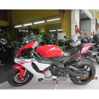 Yamaha YZFR1 2015 $33K Nego D/P $1500 or $500 Without Insurance  (Terms and conditions apply. Pls call 67468582 De Xing Motor Pte Ltd Blk 3006 Ubi Road 1 #01-356 S 408700.