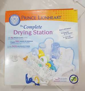 The complete drying station for bottles and cups and more