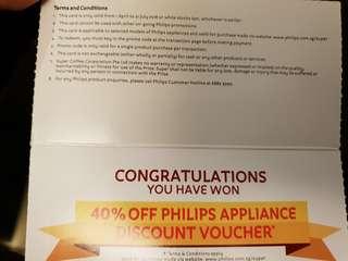 🚚 40% Philips Discount