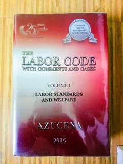 Azucena - Labor Code Volume 1