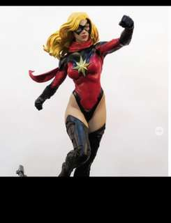 XM Studios Captain Marvel MISB.