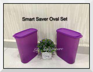 Tupperware Smart Savers Oval Set (930ml)