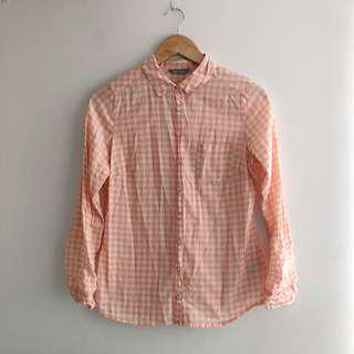 Marks & Spencer Gingham Button Down