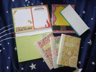 Assorted Notepads and Memo pads