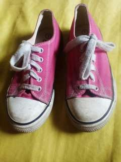 Evans Pink Rubber Shoes