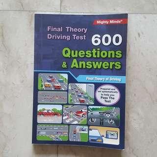 Final Theory Book 600 Q&A