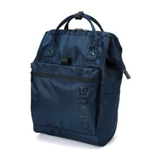[100% Authentic] Anello Repellency Waterproof Rucksack (NAVY)
