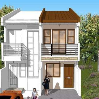 Duplex House and Lot in North Olympus Subd. Thadeus St.
