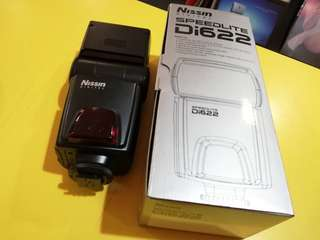 Nissin di622 flash for Nikon