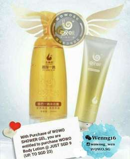 Wowo body care bundle