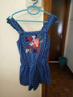 Props pig jumpsuit/playsuit