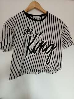 The King crop 10-12 made in korea