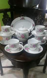 Teaset Big Rose
