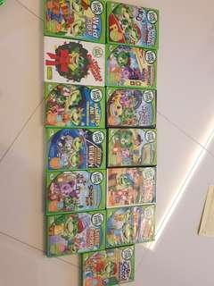 Preloved leapfrog DVDs