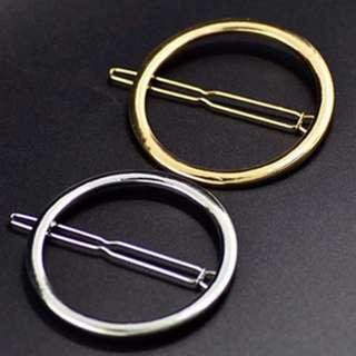 Elegant Circular Hair Clip