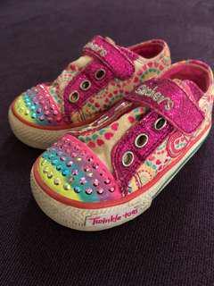 Skechers twinkle toes for 2y