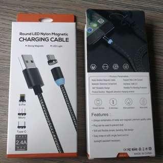 磁力USB充電線 - 自動斷電