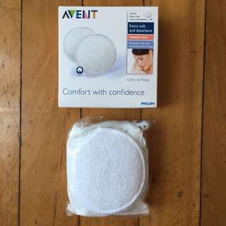 BNIP Philips AVENT Washable Breast Pads