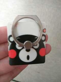 熊本熊手機指環