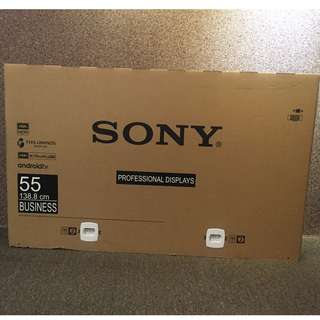 Sony 55'' 4k Triluminus Display New