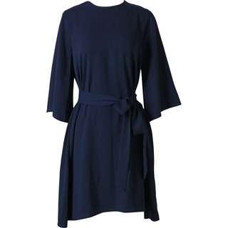 Tied dress cottonink x raisa